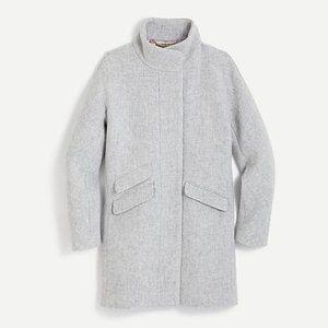 **FREE shipping** Classic wool Cocoon coat